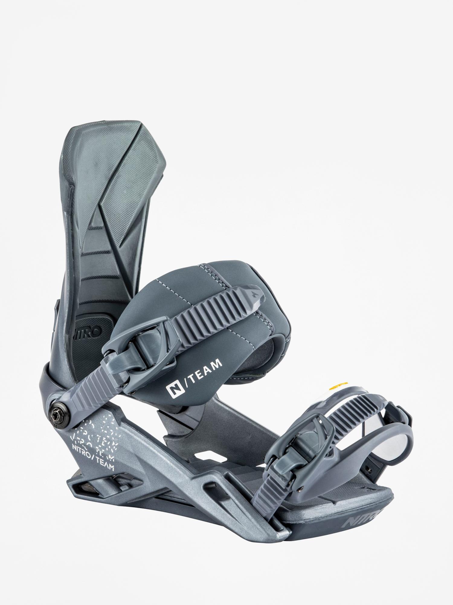 Wiu0105zania snowboardowe Nitro Team (metallic blue)
