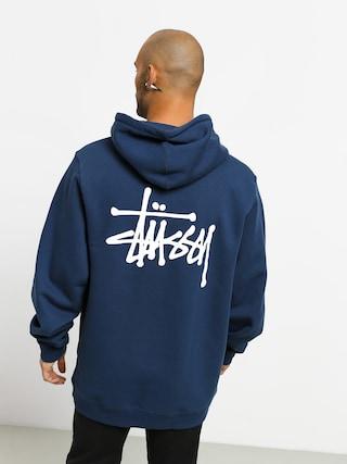 Bluza z kapturem Stussy Basic Stussy HD (navy)