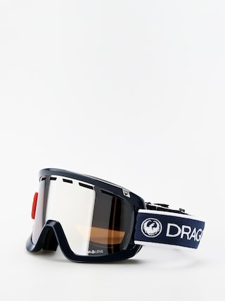Gogle Dragon D1OTG (designer/lumalens silver ion/lumalens flash blue)