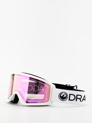 Gogle Dragon DX3 (white/lumalens pink ion)