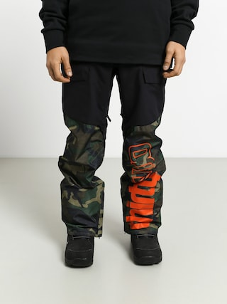 Spodnie snowboardowe ThirtyTwo Alpha (black/camo)