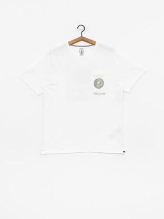 T-shirt Volcom Spun Pocket (white)