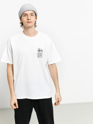 T-shirt Stussy Global Roots (white)