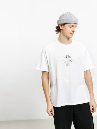 T-shirt Stussy City Stack (white)
