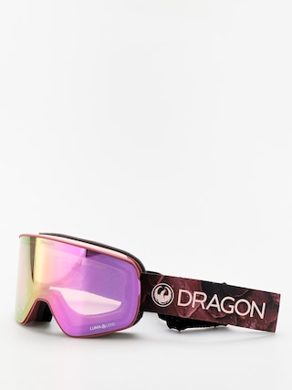 Gogle Dragon NFX2 (rose/lumalens pink ion/lumalens dark smoke)