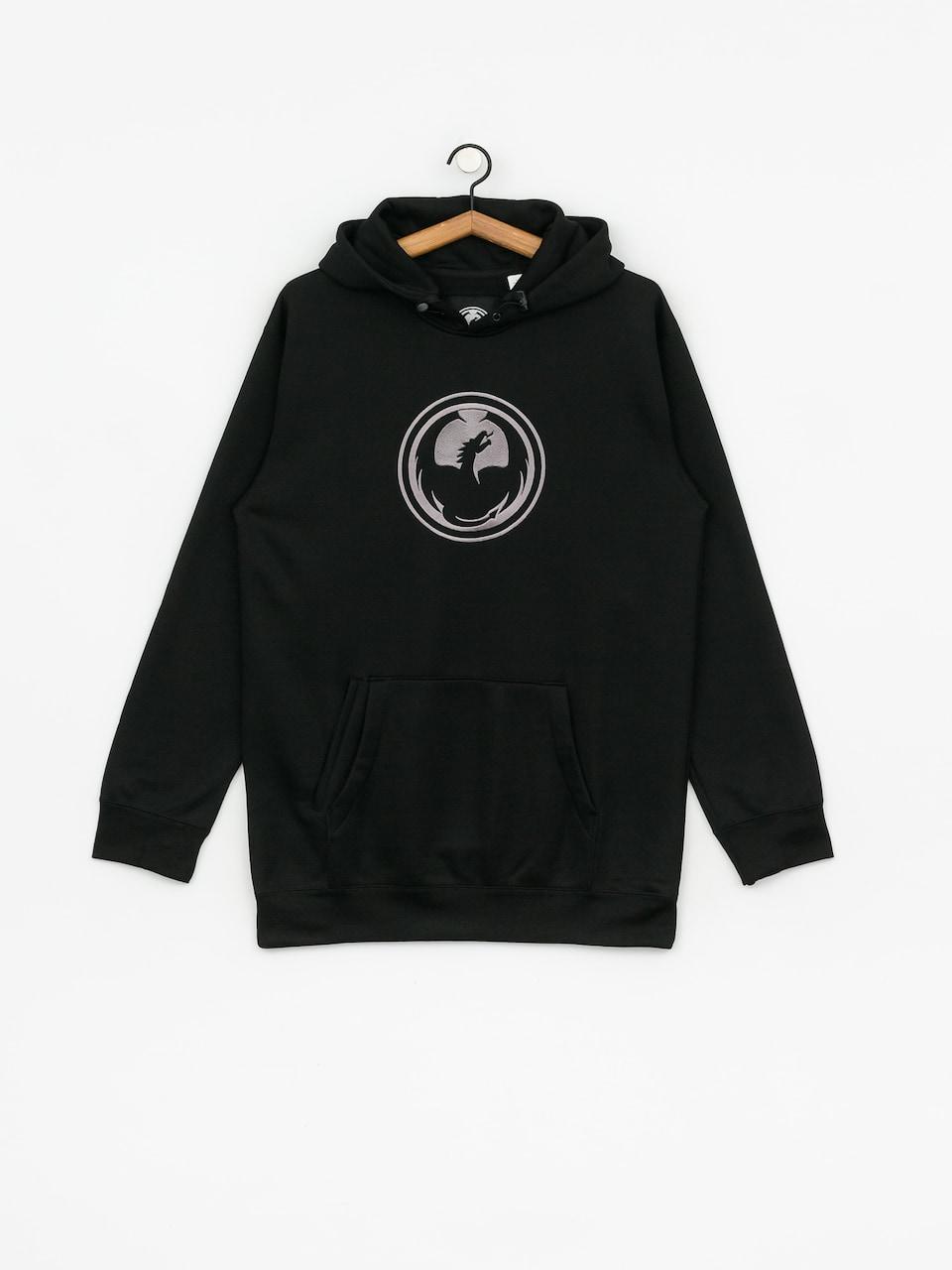 Bluza z kapturem Dragon Icon Hydro HD (black)