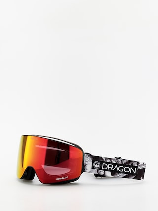 Gogle Dragon PXV (faction/lumalens red ion/lumalens rose)