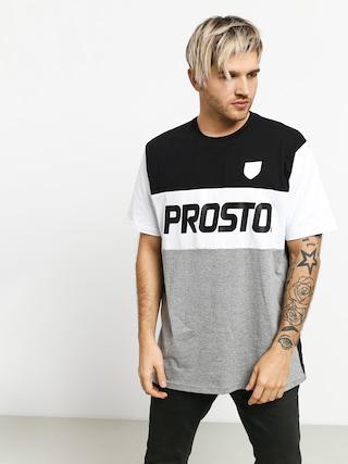 T-shirt Prosto Reyal (black/grey)