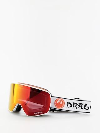 Gogle Dragon NFX2 (danny davis sig19/lumalens red ion/lumalens amber)