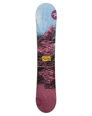 Deska snowboardowa Rossignol Myth Wmn (maroon/blue/yellow)
