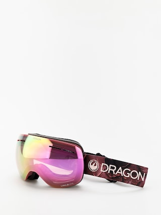 Gogle Dragon X1s (rose/lumalens pink ion/lumalens dark smoke)