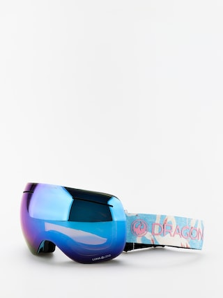Gogle Dragon X1 (flamingos/lumalens blue ion/lumalens amber)