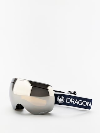 Gogle Dragon X1 (designer/lumalens silver ion/lumalens flash blue)