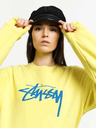 Bluza Stussy Stock Wmn (lemon)
