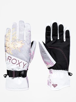 Ru0119kawice Roxy Jetty Gloves Wmn (edelweiss)
