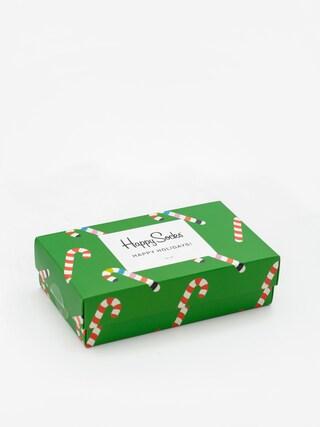 Skarpetki Happy Socks X Mass Giftbox 3pk (red/green)