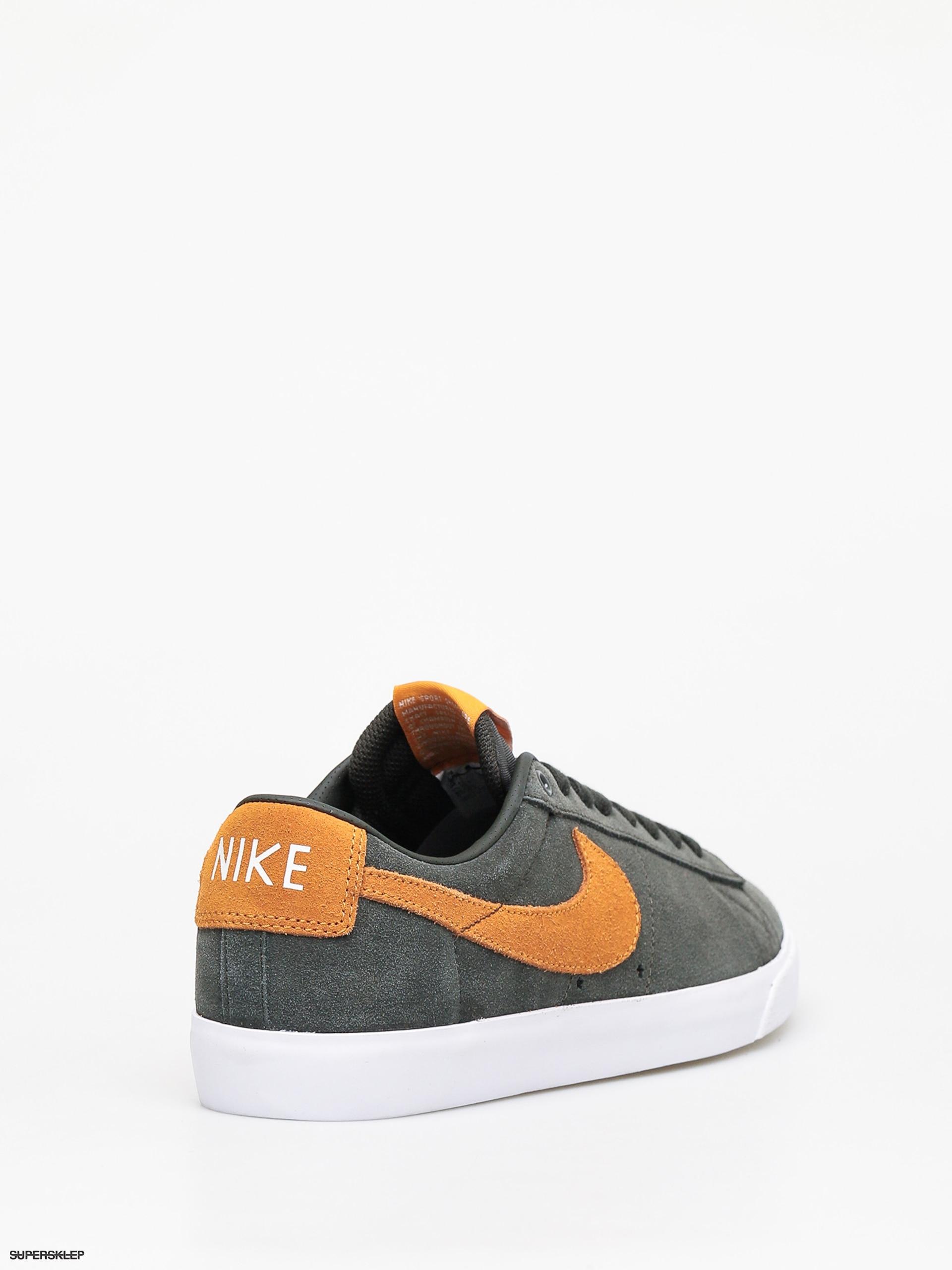 Nike SB CHRON SLR - Sneakersy niskie - black/white/light brown