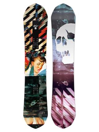 Deska snowboardowa Capita Ultrafear (multi 1/black/purple/pink)