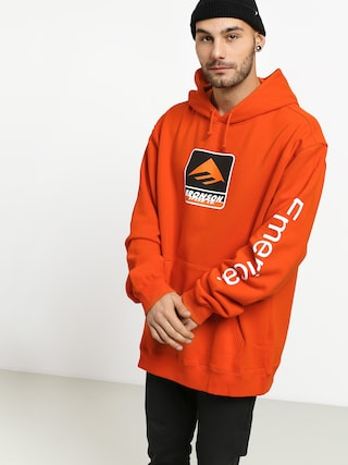 Bluza z kapturem Emerica Bronson HD (orange)