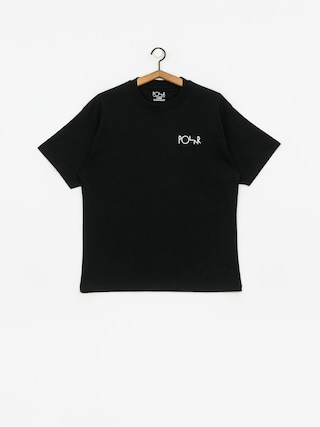 T-shirt Polar Skate Garden Fill Logo (black)