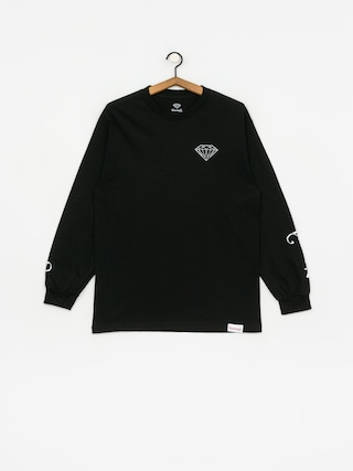 Longsleeve Diamond Supply Co. Double Read (black)