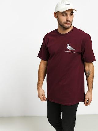 T-shirt Antihero Lil Pigeon (burgundy)