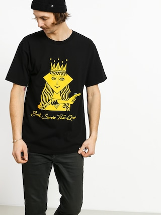 T-shirt Diamond Supply Co. The Queen (black)