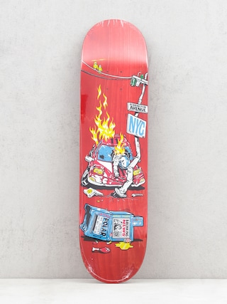 Deck Polar Skate Aaron Herrington Crash (red)