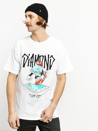 T-shirt Diamond Supply Co. Sup Pool (white)