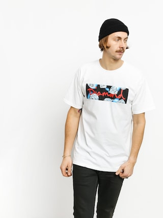 T-shirt Diamond Supply Co. Diamond Cuts (white)