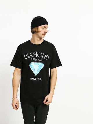 T-shirt Diamond Supply Co. Classic Diamond (black)