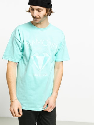 T-shirt Diamond Supply Co. Classic Diamond (diamond blue)