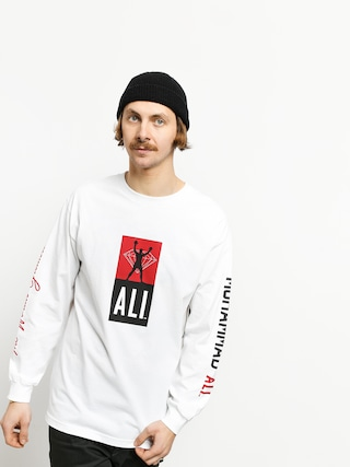 Longsleeve Diamond Supply Co. Dmnd X Muhammad Ali Fight (white)