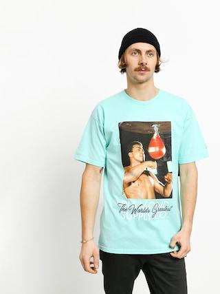 T-shirt Diamond Supply Co. Dmnd X Muhammad Ali World Greatest (diamond blue)