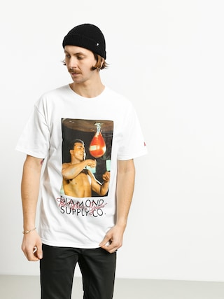 T-shirt Diamond Supply Co. Dmnd X Muhammad Ali World Greatest (white)