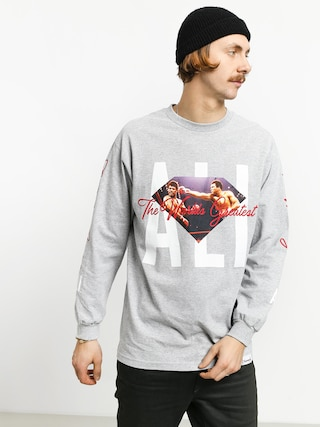 Longsleeve Diamond Supply Co. Dmnd X Muhammad Ali Ali Sign (grey)