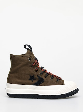 Trampki Converse Bosey Mc Water Repellent Wmn (surplus olive/campfire orange)