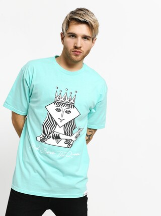 T-shirt Diamond Supply Co. The Queen (diamond blue)