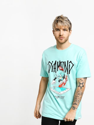 T-shirt Diamond Supply Co. Sup Pool (diamond blue)