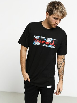 T-shirt Diamond Supply Co. Diamond Cuts (black)