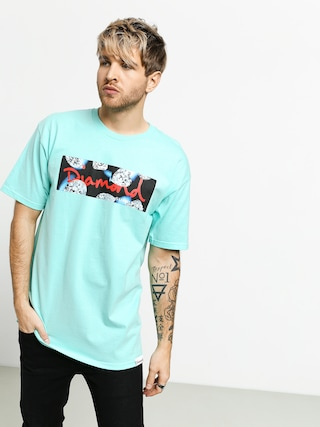 T-shirt Diamond Supply Co. Diamond Cuts (diamond blue)