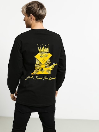 Longsleeve Diamond Supply Co. The Queen (black)
