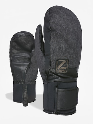 Ru0119kawice Level Rover Mitt (black grey)