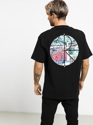 T-shirt Polar Skate Garden Fill Logo (black)