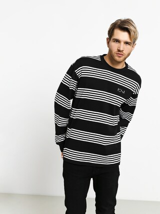 Longsleeve Polar Skate Striped (black)