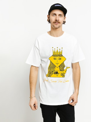 T-shirt Diamond Supply Co. The Queen (white)