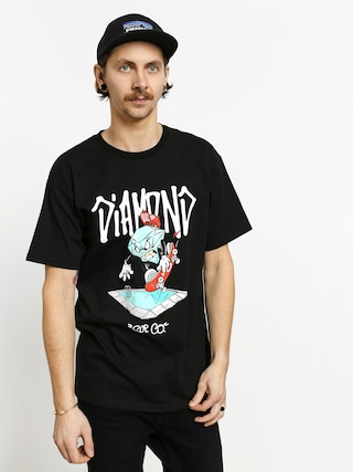 T-shirt Diamond Supply Co. Sup Pool (black)