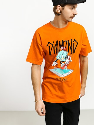 T-shirt Diamond Supply Co. Sup Pool (orange)