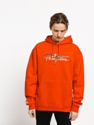 Bluza z kapturem Nike SB Sb Icon Stripes HD (team crimsonobsidiancinder orange)