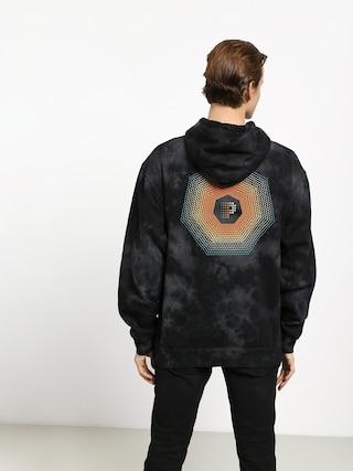 Bluza z kapturem Primitive Particle Crystal Washed HD (black)